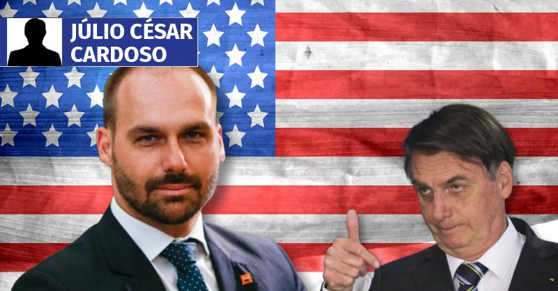 Do trampolim político para a embaixada nos EUA