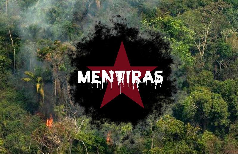 Queimadas na Amazônia: esquerda brasileira emplacando mais difamações sobre o Brasil no exterior
