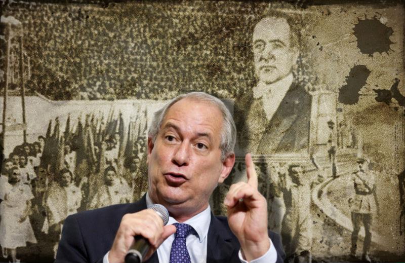 PDT e Ciro Gomes homenageando Vargas – mas fascistas são os liberais!