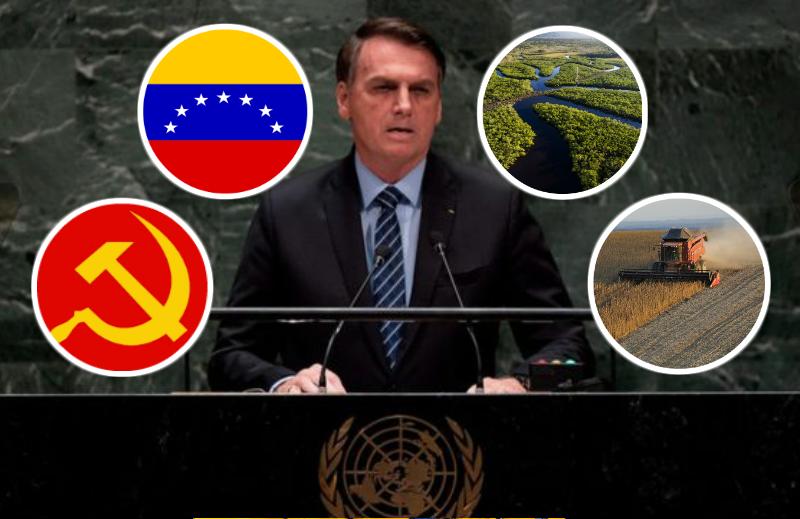 Bolsonaro na ONU: o melhor discurso da história
