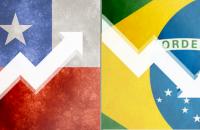 Brasil e Chile: o que dizem os números