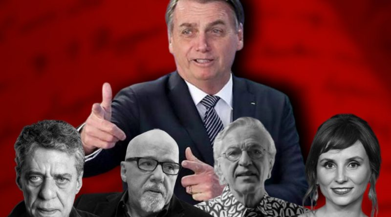 O manifesto desonesto de artistas e intelectuais contra o governo Bolsonaro