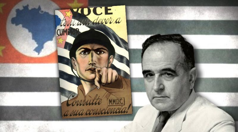 O dia da revolta dos paulistas contra a ditadura varguista