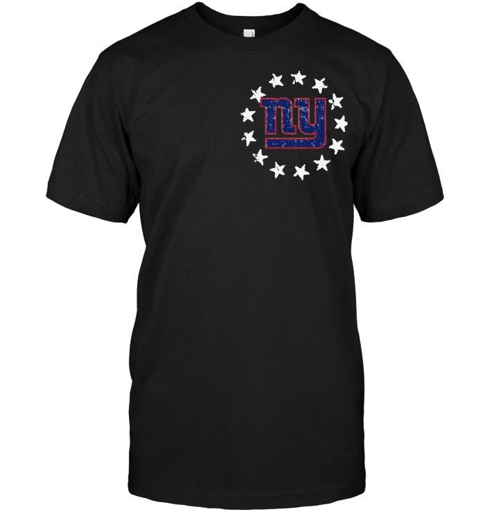 New York Giants American Star Flag Shirt Tshirt, Hoodie, Sweater Up To 5xl Black