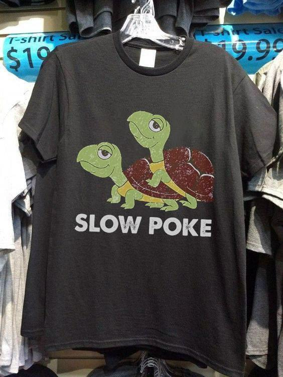 Slowpoke Cute Turtle Lovers T Shirt Tshirt, Hoodie, Sweater Up To 5xl Black