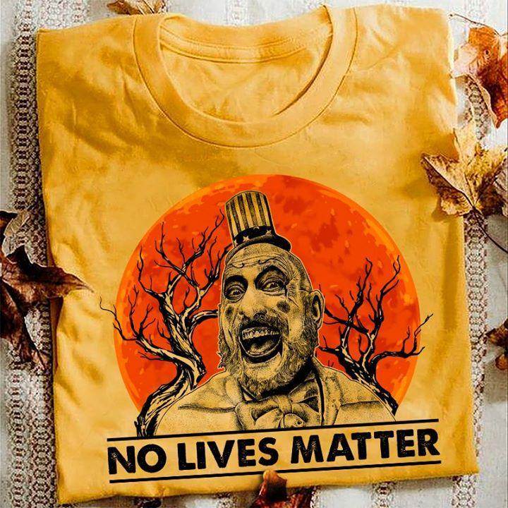 Captain Spaulding House Of 1000 Corpses No Lives Matter Halloween Horror Character T Shirt Hoodie, Sweater Up To 5xl