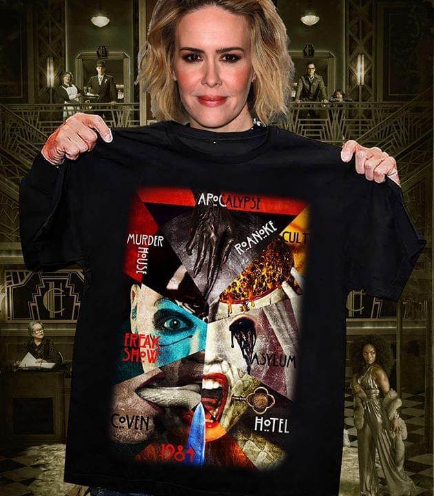 Apocalypse Murder House Roanoke Freak Show Asylum Coven Hotel 1984 T Shirt T Shirt Hoodie, Sweater Up To 5xl