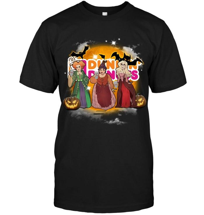 Dunkin Donuts Coffee Hocus Pocus Halloween Shirt T Shirt Hoodie, Sweater Up To 5xl