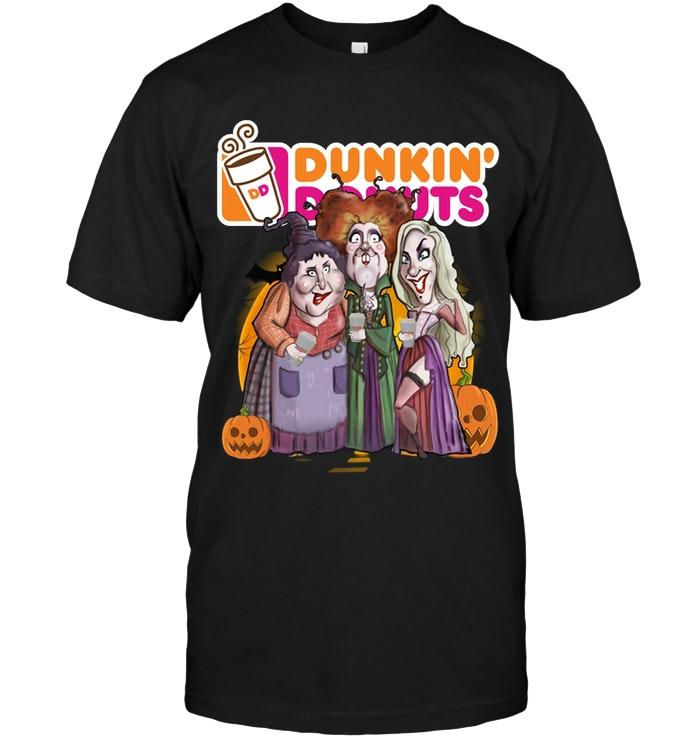 Dunkin Donuts Hocus Pocus Halloween Shirt T Shirt Hoodie, Sweater Up To 5xl