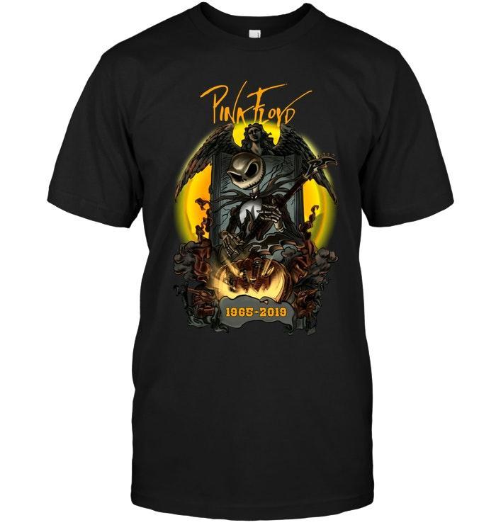 Pink Floyd Jack Skellington 1965 2019 Halloween Shirt T Shirt Hoodie, Sweater Up To 5xl