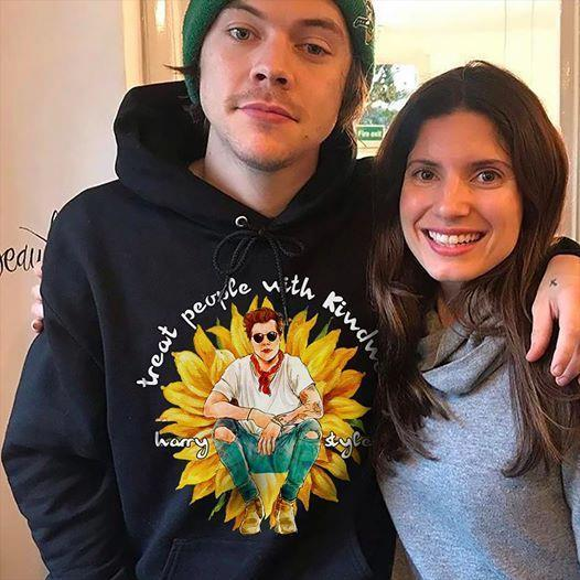 Treat People With Kindness Harry Styles Sunflower Fan Hoodie T Shirt Hoodie, Sweater Up To 5xl
