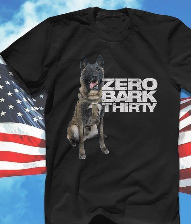 Zero Bark Thirty Dog Lover T Shirt T Shirt Hoodie, Sweater Up To 5xl