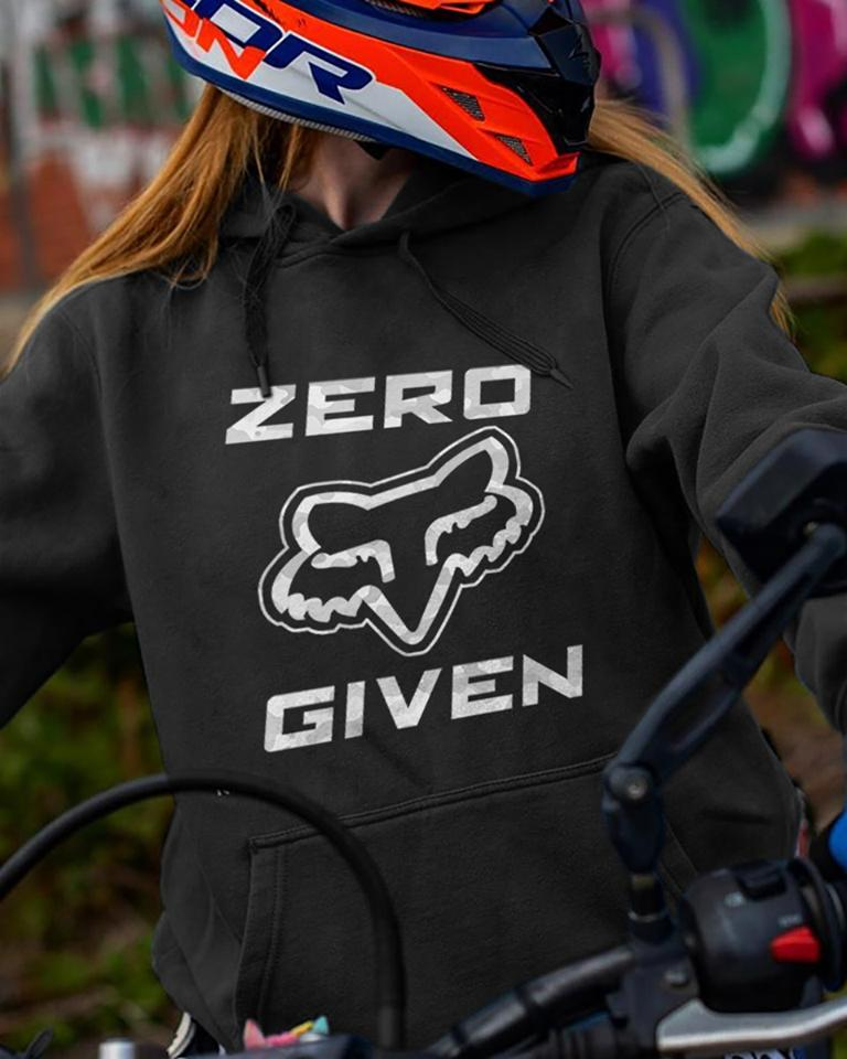 Zero Given Fox Racing Rider Motorcycle Fan Hoodie T Shirt Hoodie, Sweater Up To 5xl