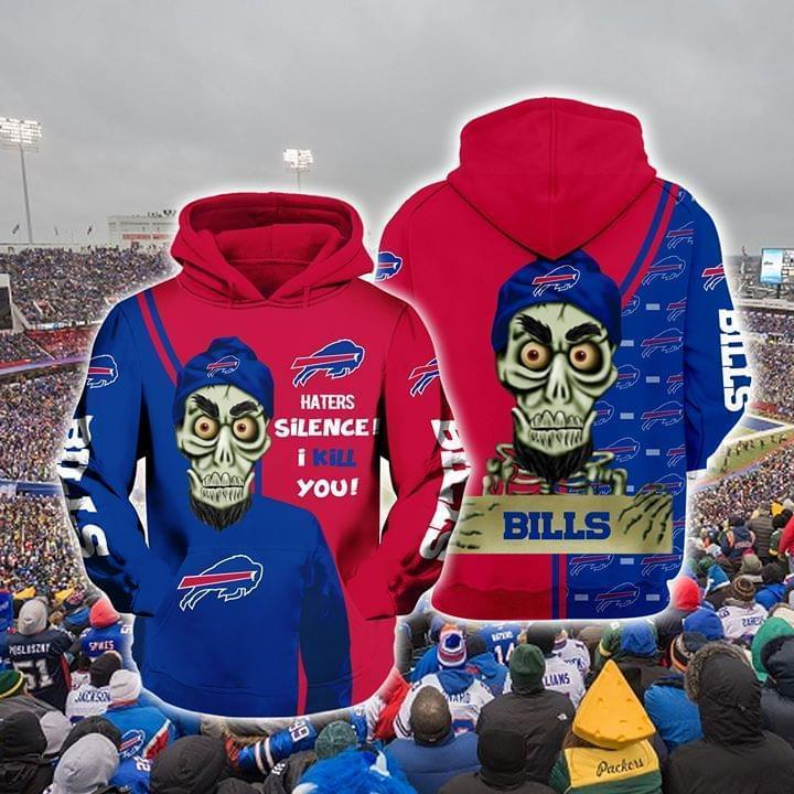 Achmed The Dead Terrorist Buffalo Bills Haters Silence I Kill You 3d Printed Hoodie 3d 3d Graphic Printed Tshirt Hoodie Up To 5xl