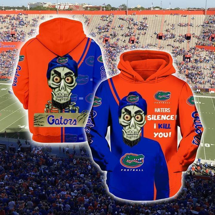 Achmed The Dead Terrorist Florida Gators Haters Silence I Kill You 3d Printed Hoodie 3d 3d Graphic Printed Tshirt Hoodie Up To 5xl