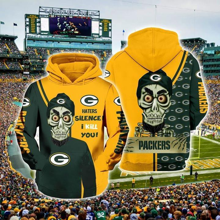 Achmed The Dead Terrorist Green Bay Packers Haters Silence I Kill You 3d Printed Hoodie 3d 3d Graphic Printed Tshirt Hoodie Up To 5xl