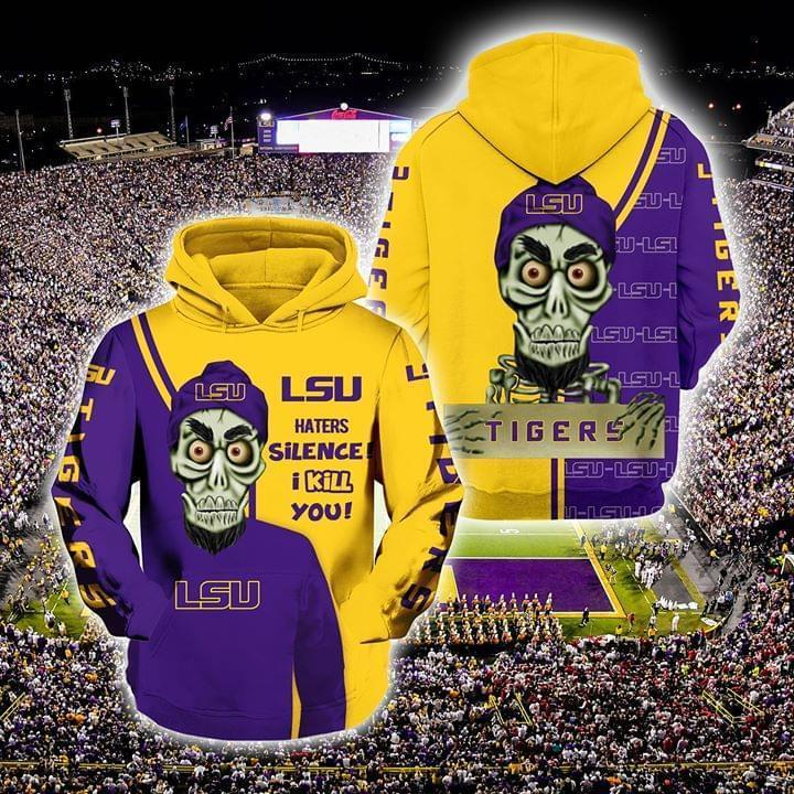 Achmed The Dead Terrorist Lsu Tigers Haters Silence I Kill You 3d Printed Hoodie 3d 3d Graphic Printed Tshirt Hoodie Up To 5xl