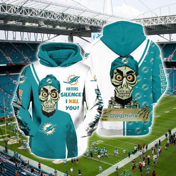 Achmed The Dead Terrorist Miami Dolphins Haters Silence I Kill You 3d Printed Hoodie 3d 3d Graphic Printed Tshirt Hoodie Up To 5xl