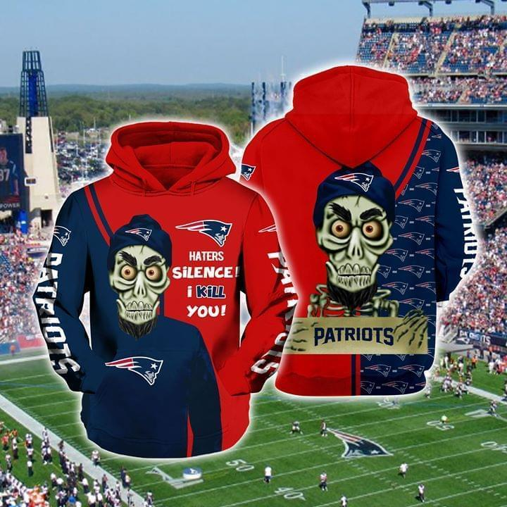 Achmed The Dead Terrorist New England Patriots Haters Silence I Kill You 3d Printed Hoodie 3d 3d Graphic Printed Tshirt Hoodie Up To 5xl