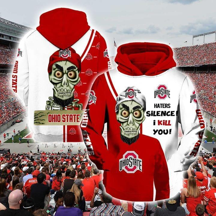 Achmed The Dead Terrorist Ohio State Buckeyes Haters Silence I Kill You 3d Printed Hoodie 3d 3d Graphic Printed Tshirt Hoodie Up To 5xl