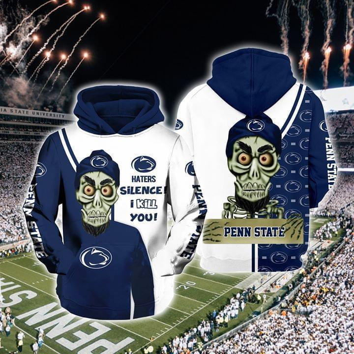 Achmed The Dead Terrorist Penn State Nittany Lions Haters Silence I Kill You 3d Printed Hoodie 3d 3d Graphic Printed Tshirt Hoodie Up To 5xl