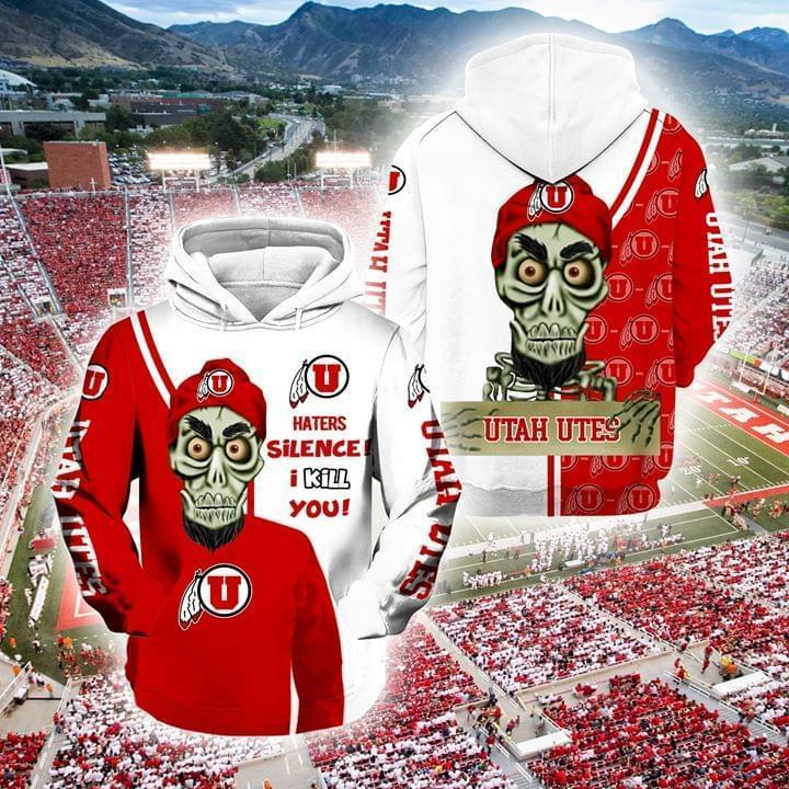 Achmed The Dead Terrorist Utah Utes Haters Silence I Kill You 3d Printed Hoodie 3d 3d Graphic Printed Tshirt Hoodie Up To 5xl