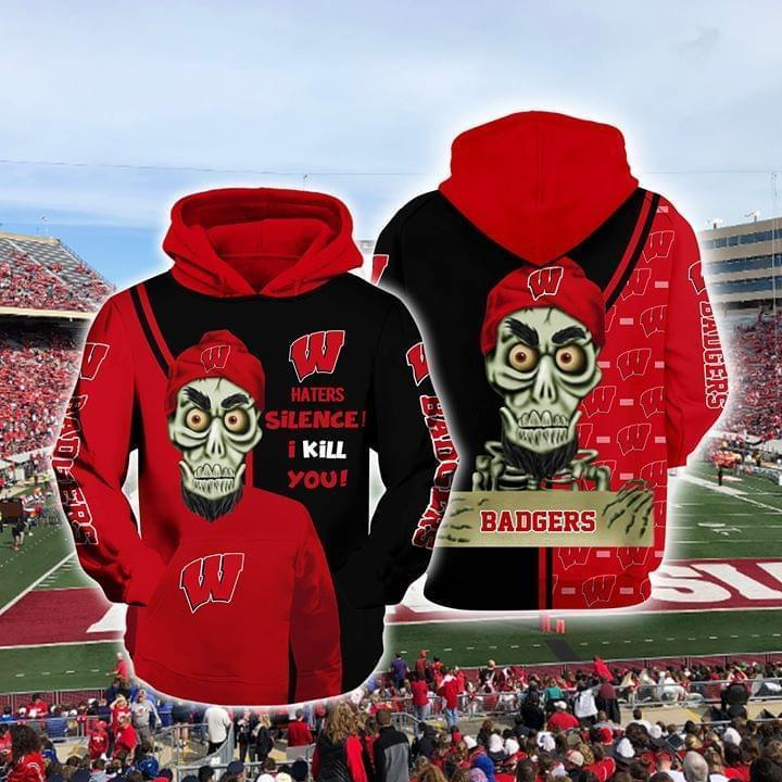 Achmed The Dead Terrorist Wisconsin Badgers Silence I Kill You 3d Printed Hoodie 3d 3d Graphic Printed Tshirt Hoodie Up To 5xl