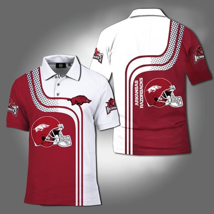 Arkansas Razorbacks Ncaa 3d Printed Polo 3d Graphic Printed Tshirt Hoodie Up To 5xl