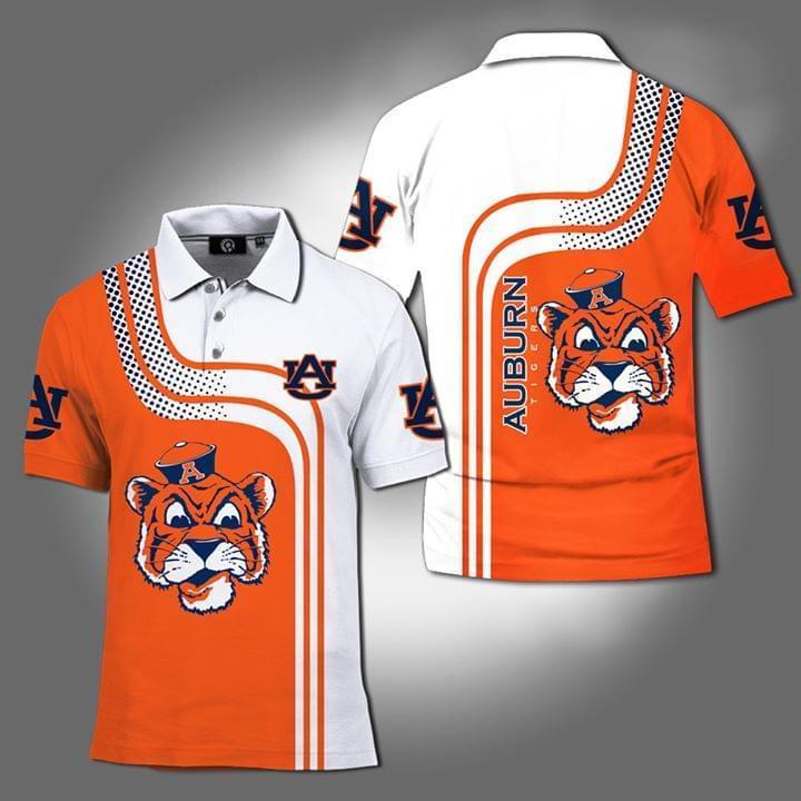 Auburn Tigers Ncaa 3d Printed Polo 3d Graphic Printed Tshirt Hoodie Up To 5xl