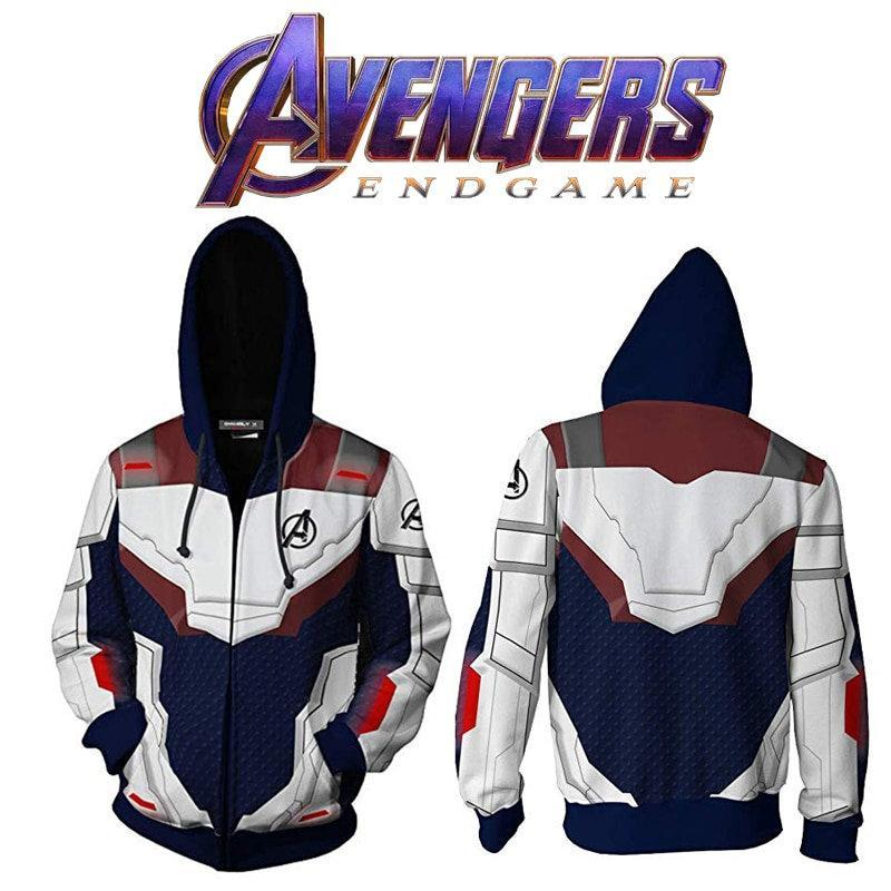 Avenger Endgame Battle Suit 3d Full Print 3 3d Graphic Printed Tshirt Hoodie Up To 5xl