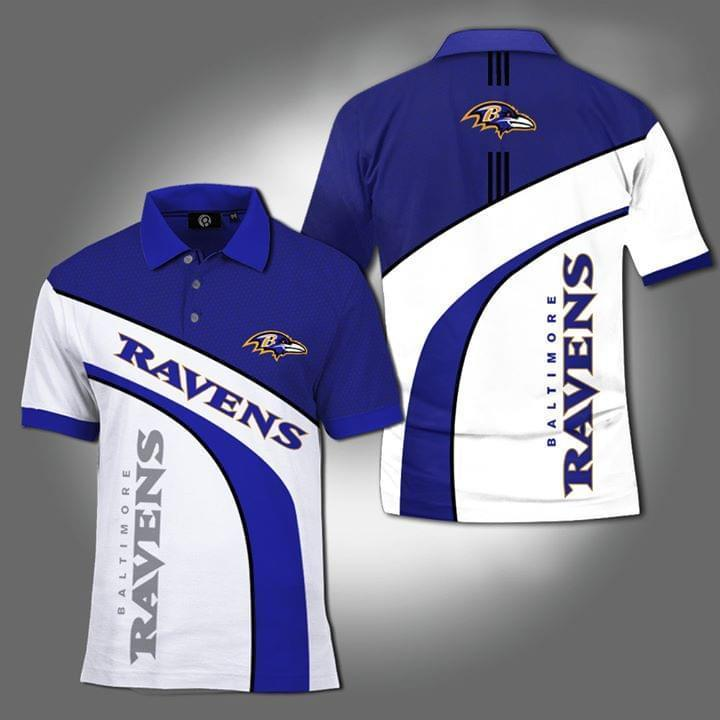 Baltimore Ravens Nfl Fan 3d Printed Polo 3d Graphic Printed Tshirt Hoodie Up To 5xl