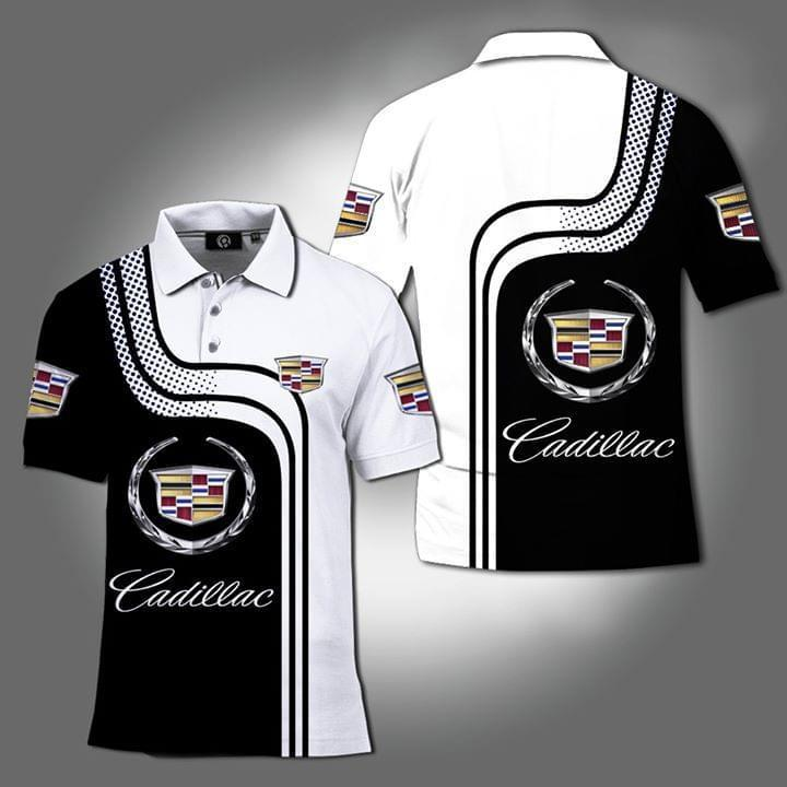 Cadillac Supercar 3d Printed Polo Car Lover 3d Graphic Printed Tshirt Hoodie Up To 5xl