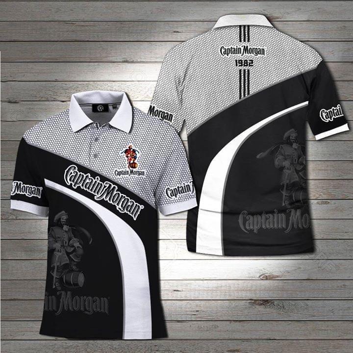 Captain Morgan Rum Polo 3d Shirt 3d Graphic Printed Tshirt Hoodie Up To 5xl