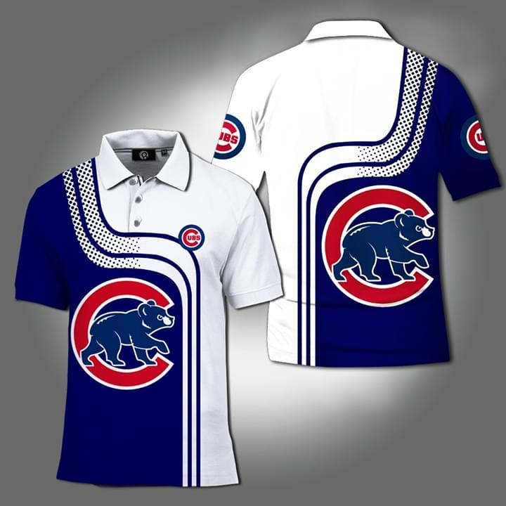 Chicago Cubs Mlb 3d Printed Polo 3d Graphic Printed Tshirt Hoodie Up To 5xl