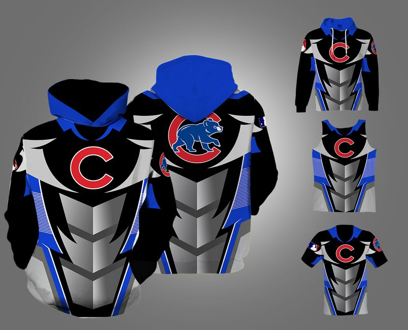 Chicago Cubs Printed 3d Pullover Hoodie 3d 3d Graphic Printed Tshirt Hoodie Up To 5xl