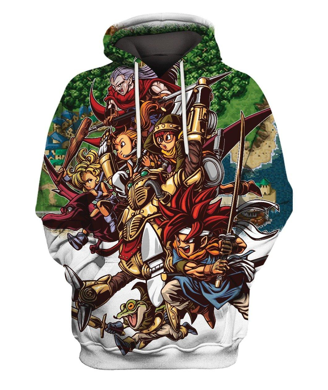 Chrono Trigger Full 3d Hoodie 3d Graphic Printed Tshirt Hoodie Up To 5xl