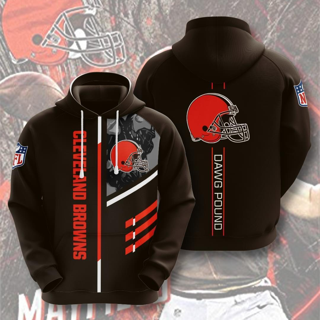 Cleveland Browns Nfl Dawg Pound 3d Printed Hoodie 3d 3d Graphic Printed Tshirt Hoodie Up To 5xl