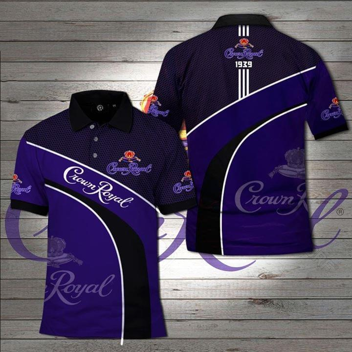 Crown Royal Whisky Polo Shirt 3d Graphic Printed Tshirt Hoodie Up To 5xl