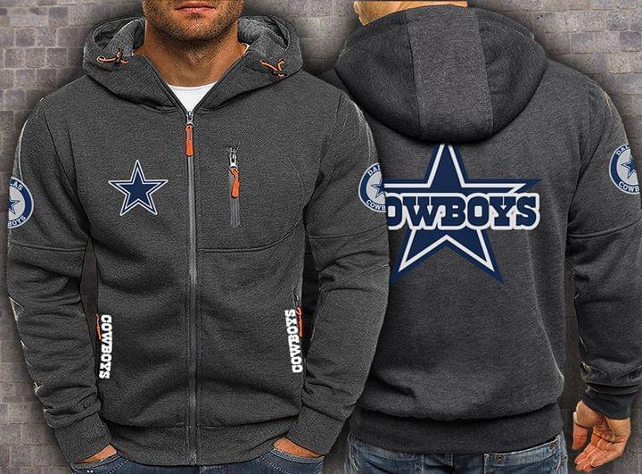Dallas Cowboys Fan 3d Zip Hoodie 3d Graphic Printed Tshirt Hoodie Up To 5xl