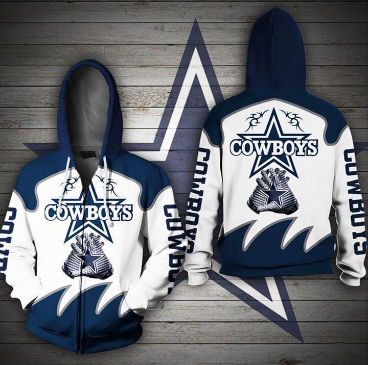 Dallas Cowboys For Cowboys Fan 3d Printed Zip Hoodie 3d 3d Graphic Printed Tshirt Hoodie Up To 5xl