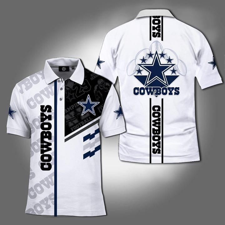 Dallas Cowboys Nfl 3d Printed Polo 3d Graphic Printed Tshirt Hoodie Up To 5xl