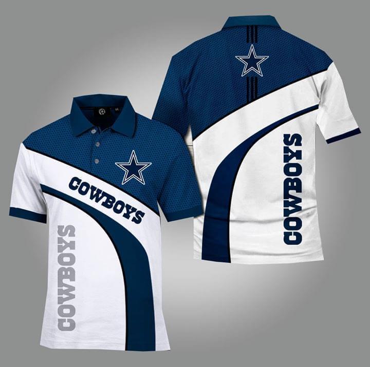 Dallas Cowboys Nfl Fan 3d Printed Polo 3d Graphic Printed Tshirt Hoodie Up To 5xl