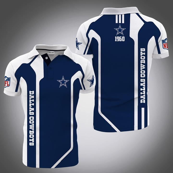 Dallas Cowboys Since 1960 Nfl Fan Polo 3d Printed Polo 3d 3d Graphic Printed Tshirt Hoodie Up To 5xl