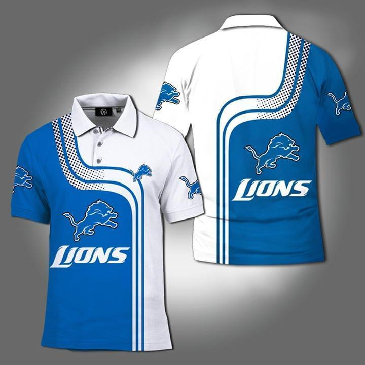 Detroit Lions Nfl Fan 3d Printed Polo 3d Graphic Printed Tshirt Hoodie Up To 5xl