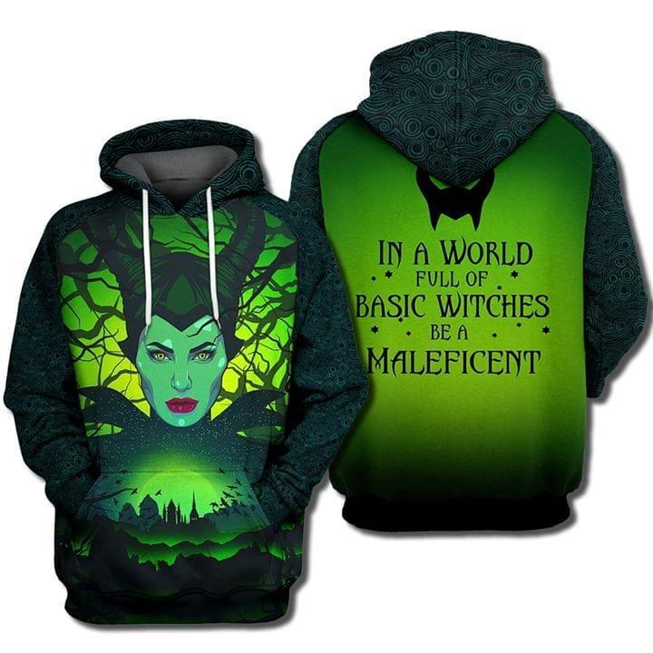 Disney Villains In World Full Of Basic Witches Be A Maleficent 3d Printed Hoodie 3d Graphic Printed Tshirt Hoodie Up To 5xl