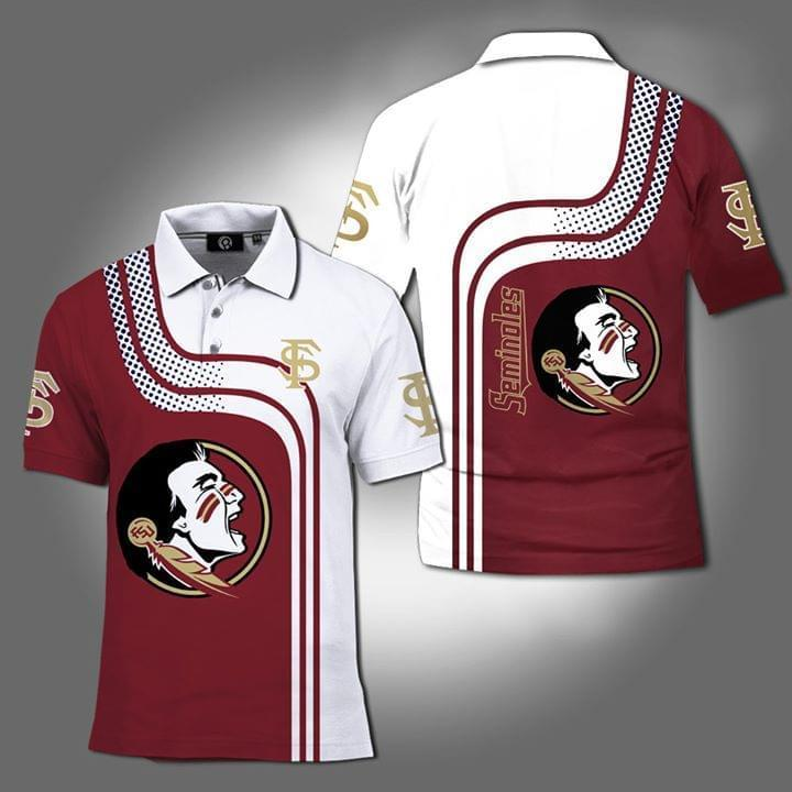 Florida State Seminoles Ncaa 3d Printed Polo 3d Graphic Printed Tshirt Hoodie Up To 5xl