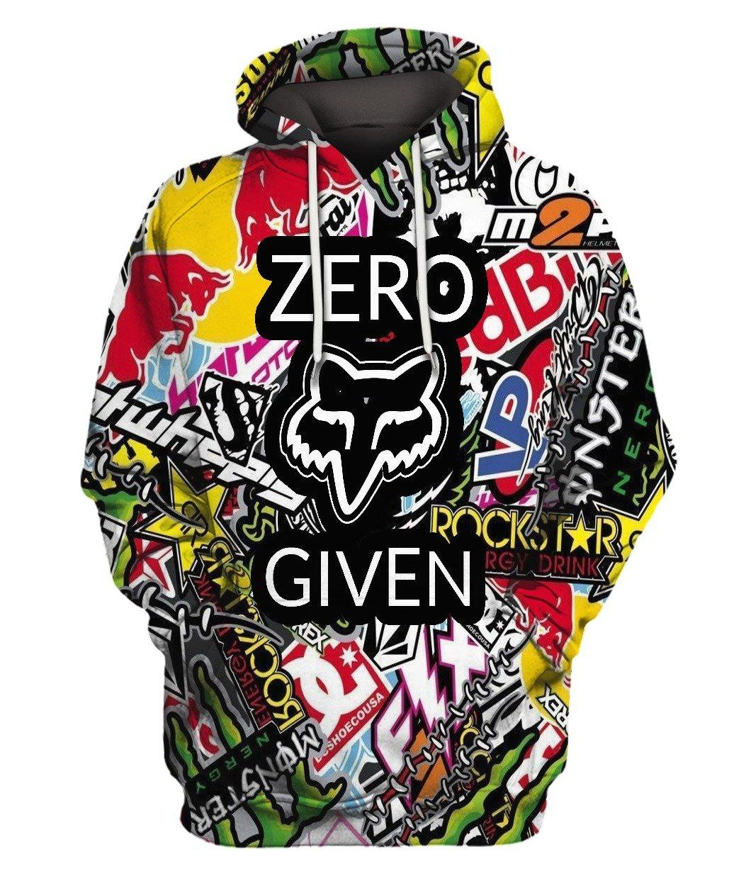 Fox Zero Given Full 3d 3d Graphic Printed Tshirt Hoodie Up To 5xl