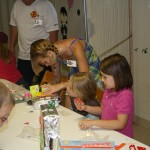 Making robots as part of craft time