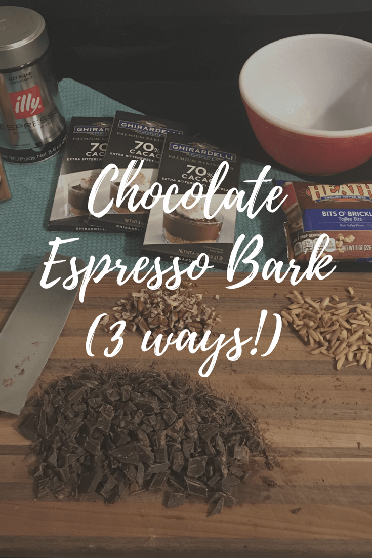 Espresso meets dark chocolate in this irresistible and easy to make treat!