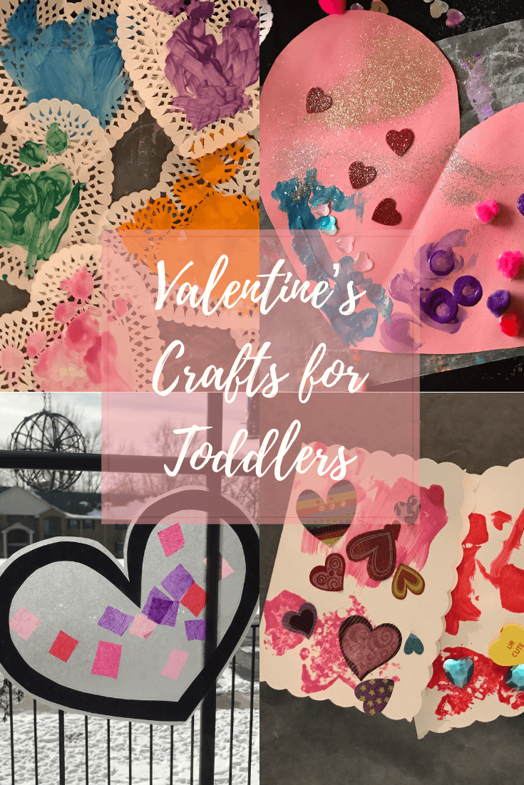 Some great ideas for Valentine's crafts to do with your kiddos